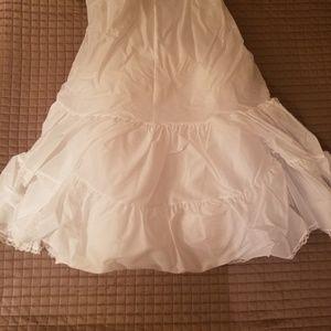 Size 16W - A-line Wedding Gown Slip